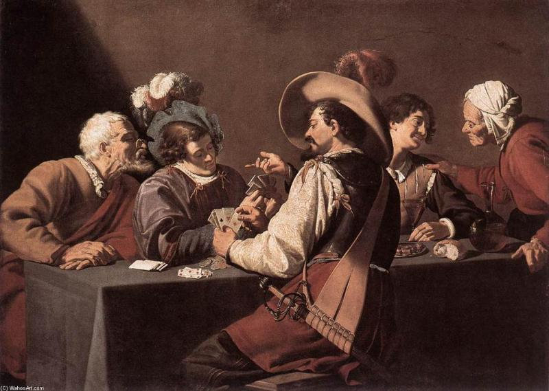 theodor-rombouts-the-card-players