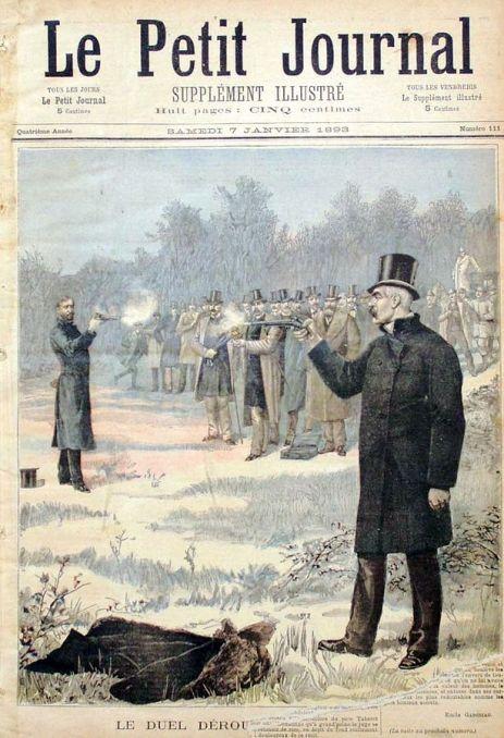 Le_duel_Déroulède-Clémenceau_1893